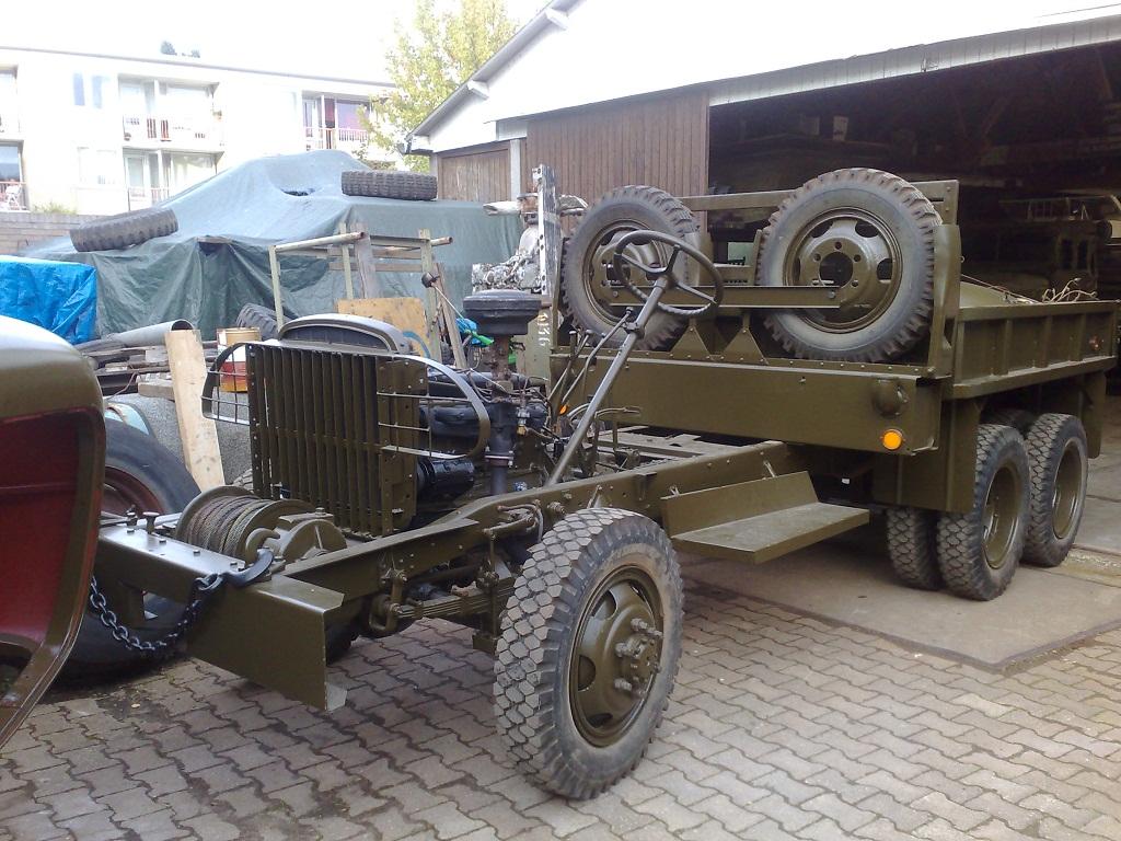 Gmc Cckw 352 Set 7 Delivered 01 01 1943 Baiv Bv