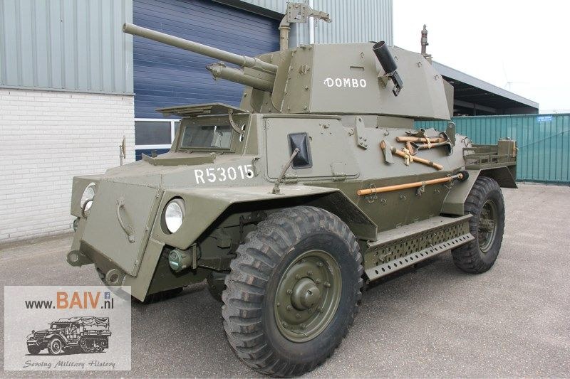 Sold Very Rare Marmon Herrington Mk Ivf Reconnaissance Car