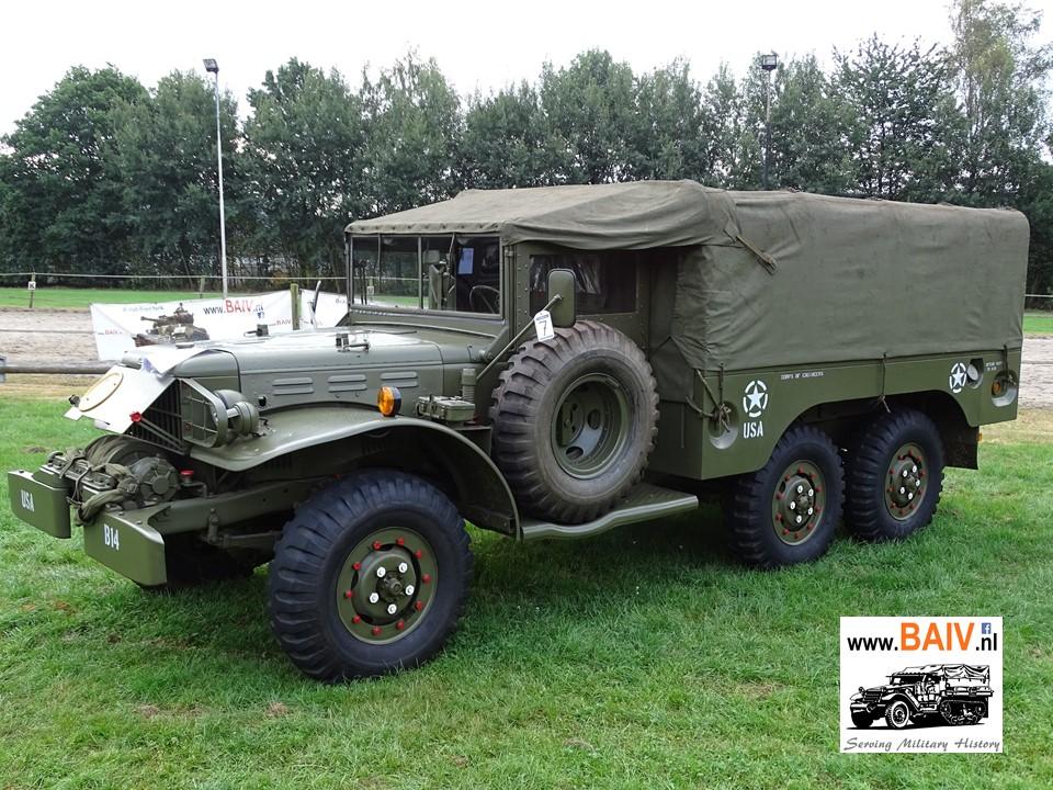 Sold 1942 Dodge Wc 63 With Winch Baiv Bv International