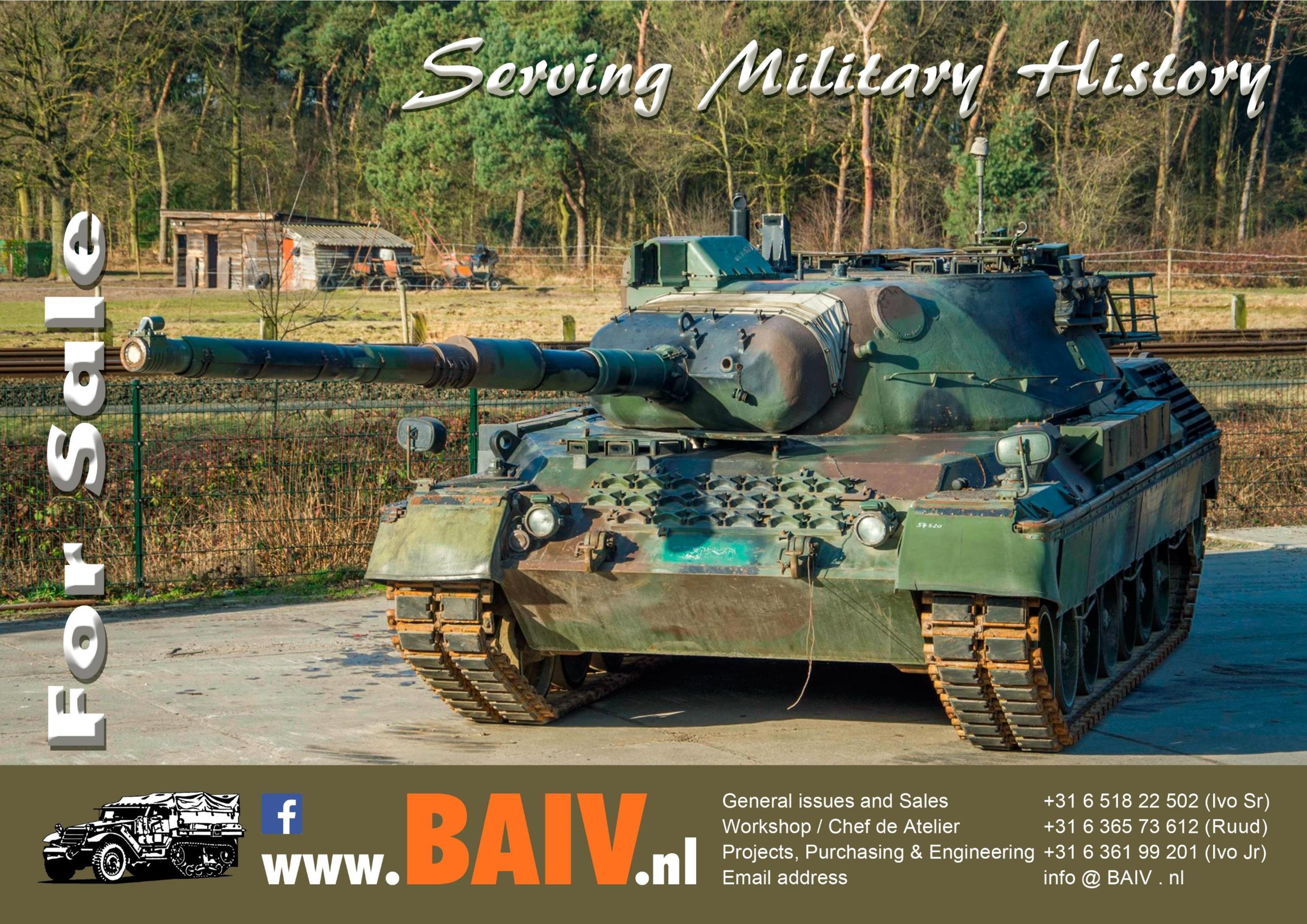 BAIV Leopard 1A5 (BE)