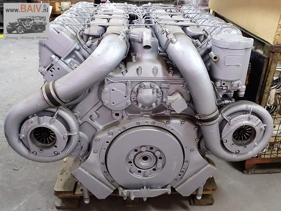 Fully Rebuild And Reconditioned Mtu Leopard 1 Engines
