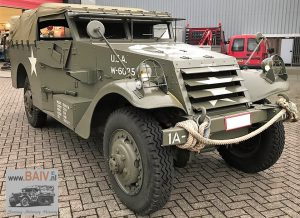 1942 BAIV M3A1 4 x 4 White Scout Car-4