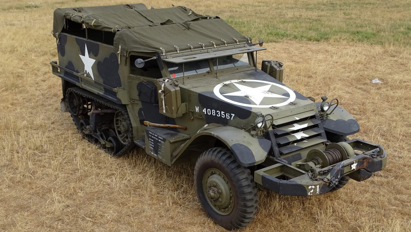 Half track M5 03/1943 – BAIV B V