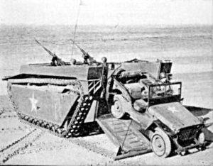 LVT-4_landing-Jeep