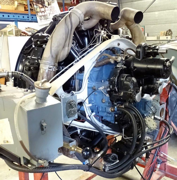 7242 BAIV Continental R975 C1 Overhauled-5