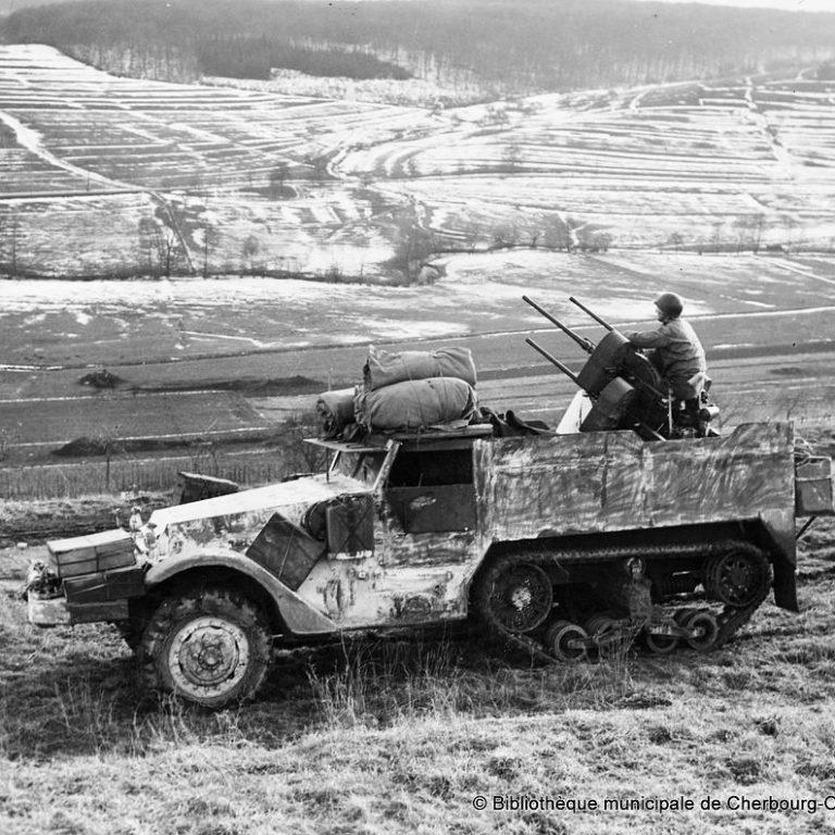 Halftrack M16 Ardennes