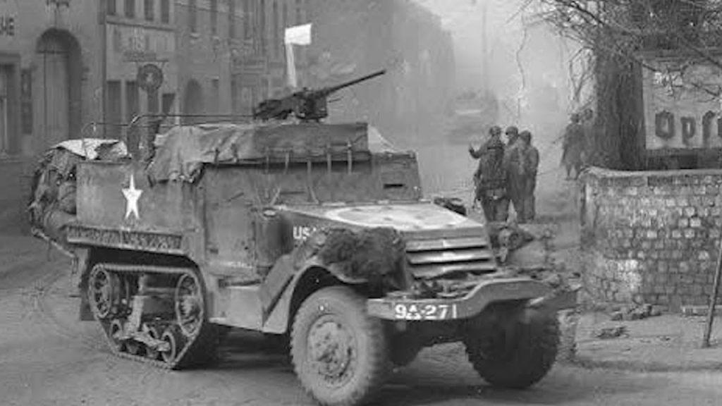 Halftrack M3A1 France 1