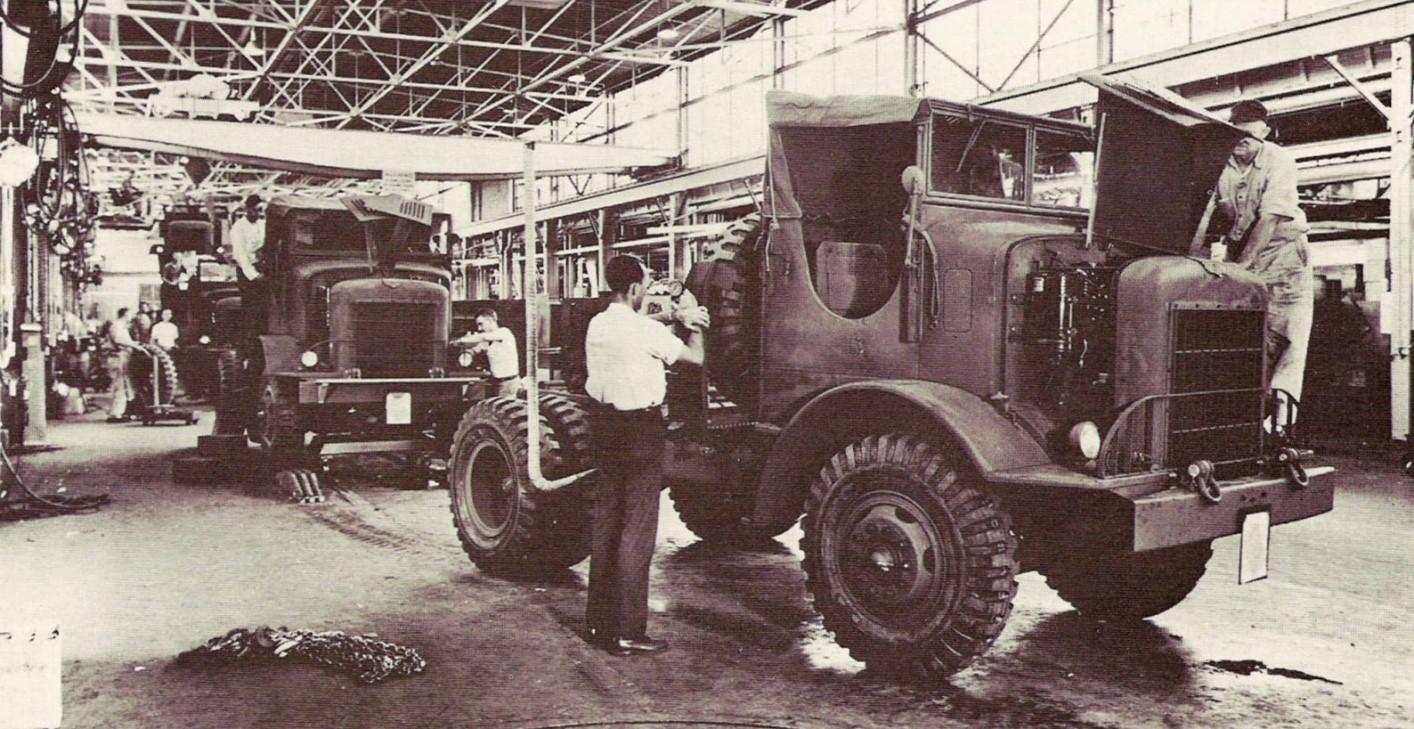 1944 H542-9 4×2 Tractor Truck Fruehauf CPT-22-11