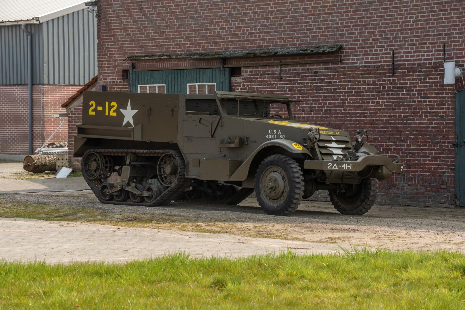 Half Track M4A1 Mortar (26)