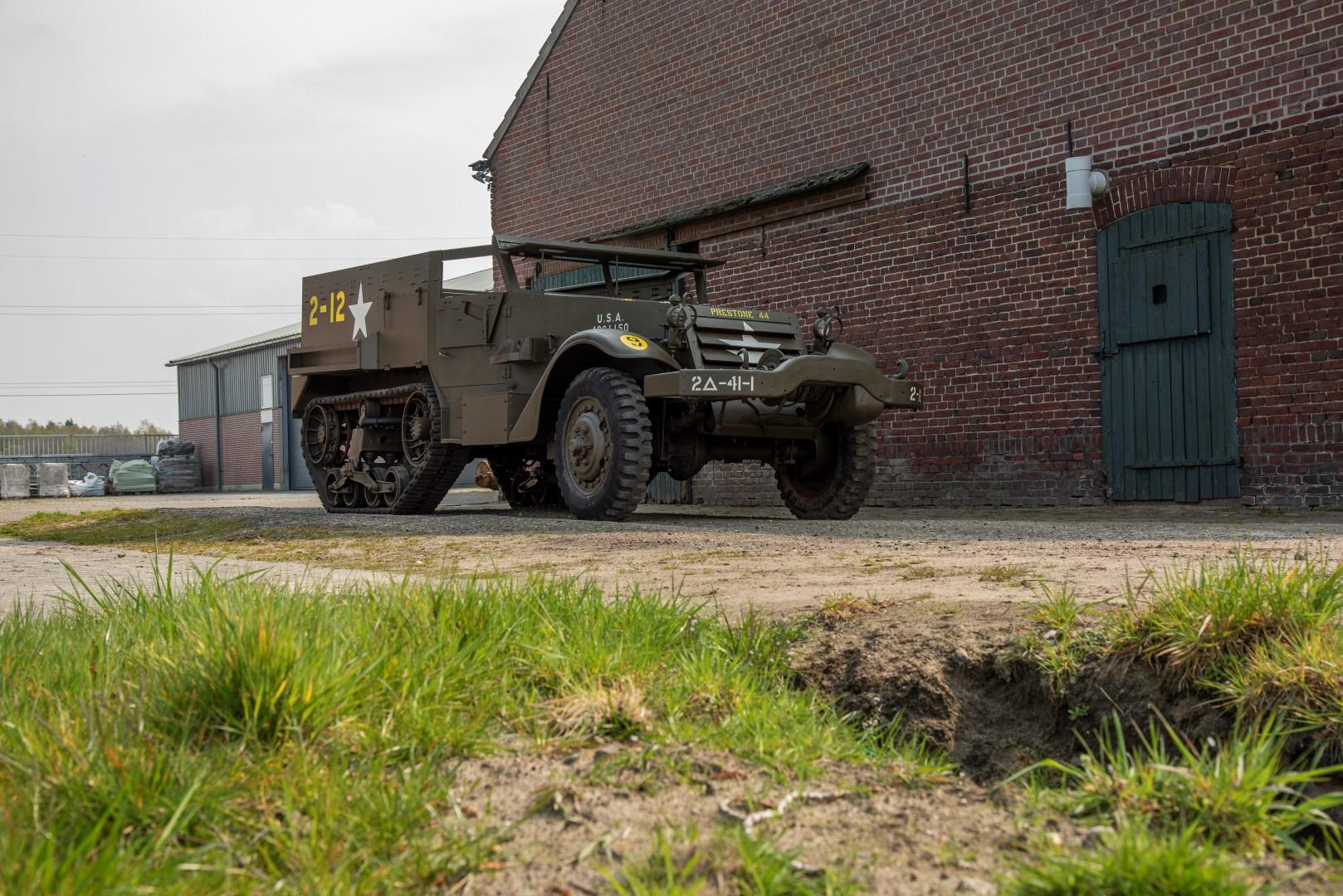 Half Track M4A1 Mortar (30)