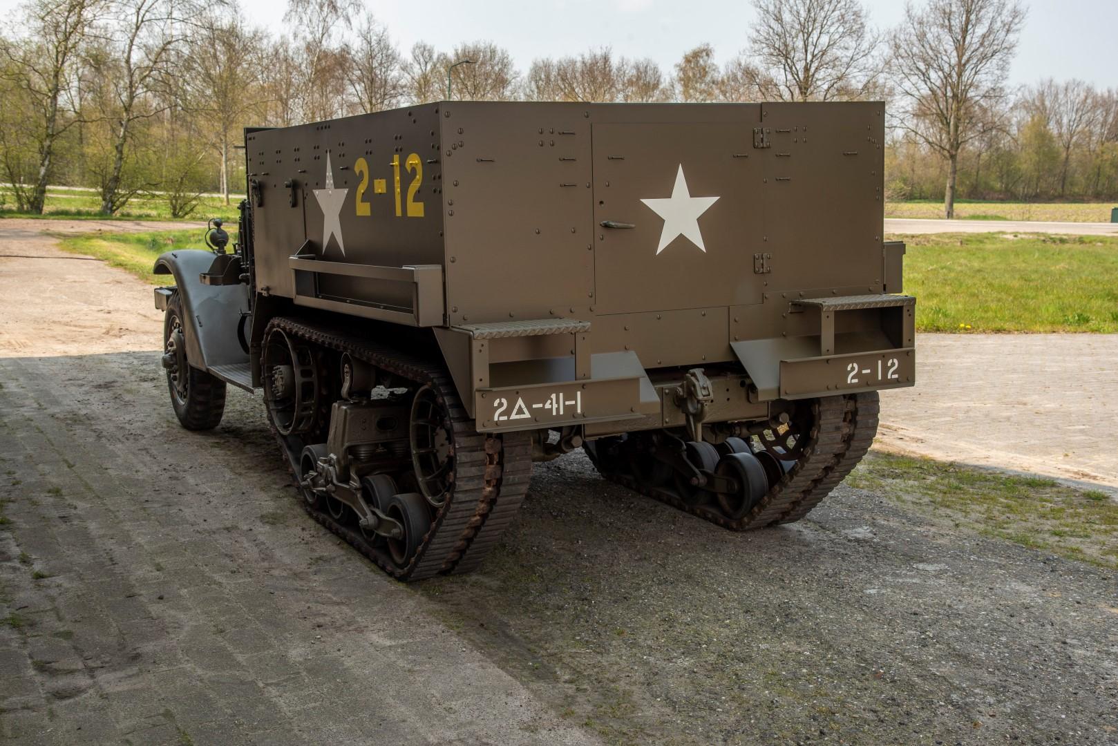 Half Track M4A1 Mortar (40)
