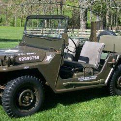 M515 Mutt Jeep